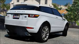 range rover modified range rover evoque 2016 gta5 mods com