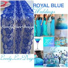 lace home decor royal blue lace table runner 3ft 8ft long x 8wide table