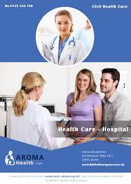 healthcare brochure templates free free hospital brochure template