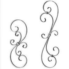 ornamental scroll flat bar 1 4 x 1 2 s c combo
