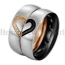 matching rings matching couples rings ebay
