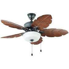44 outdoor ceiling fan home decorators collection palm cove 44 in outdoor natural iron
