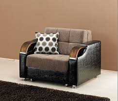 Sofa That Turns Into Bunk Beds by Caprio Chair Bed In Brown Chenille Fabric
