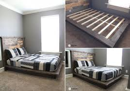 Making A Wooden Platform Bed by How To Build Your Own Bed From Scratch U2013 Three Tutorials