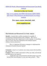 determine which employment laws were violated in your case study scen u2026