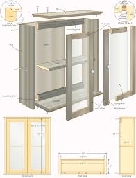 bathroom medicine cabinet woodworking plans partytrainus benevola