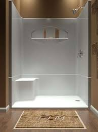 Shower Designs With Bench Sectional Piece Remodeler Shower