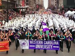western carolina marching band macy s thanksgiving