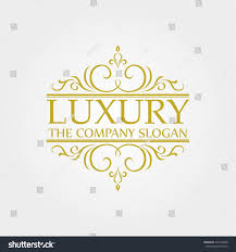 luxury logo stock vector 376120048 shutterstock