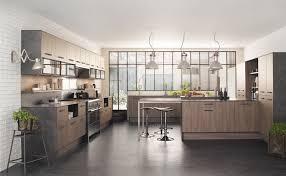 cuisine bois gris moderne cuisine bois clair moderne affordable bleu gris couleur de luanne