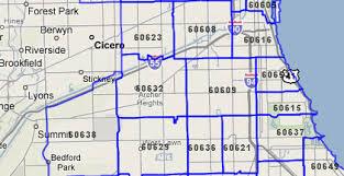 chicago zip code map t mc map help