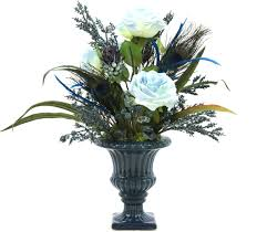 Flower Decorations For Home Fabulous Silk Flower Arrangements For Dining Room Table With