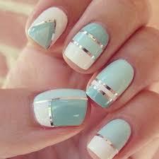 25 unique mint nail designs ideas on pinterest mint nail art