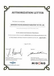 Authorization Letter Representative Sample Authorization Letter Business Employment Contract Form Nz