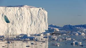 why is greenland u0027s ice sheet covered in industrial waste chowing