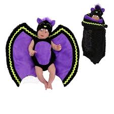 Newborn Halloween Costumes 0 3 Months Newborn Swaddle Wings Baby Bat Halloween Costume