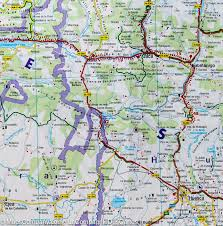 Pyrenees Mountains Map Map Of The Pyrenean Region France Spain Freytag U0026 Berndt