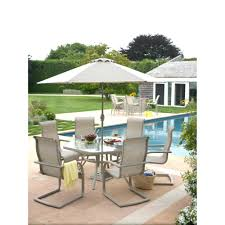 Patio Table Parts Replacement by Patio Ideas Lake Adela 4 Piece Weathered Gray All Weather Wicker