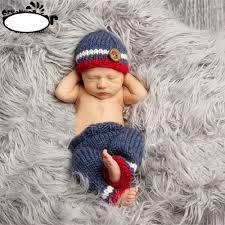Baby Boy Photo Props Aliexpress Com Buy Newborn Baby Boy Crochet Hat Pant Gentleman