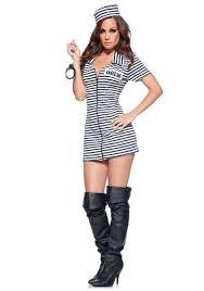sexiest female halloween costume ideas miss behavin prisoner costume women u0027s convict costume ideas