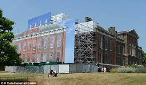 kensington palace apartment 1a kensington palace refurbishment spirals to 2million daily mail