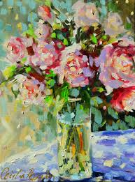 Shabby Chic Paintings by Atelier Cecilia Rosslee Shabby Chic Roses