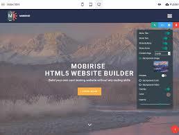 html5 website builder