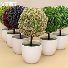 bonsai for garden home mini artificial topiary tree