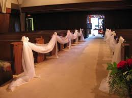wedding pew decorations 25 attractive pew decorations for weddings slodive