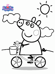 lovely coloring pages peppa pig 36 free coloring book