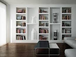 librerie bianche libreria a parete sospesa le migliori idee di design per la casa
