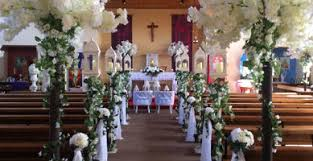 wedding arches in church enchanted wedding company specialises in wedding ceremony decoration