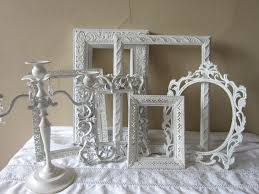 frame set wedding french country shabby and chic cottage