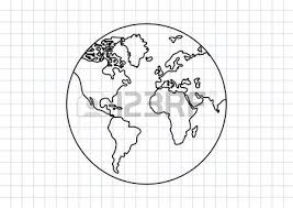 editable vector sketch map of south america royalty free cliparts