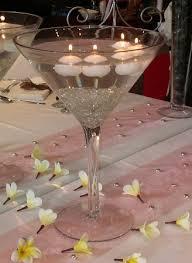 Martini Glass Centerpieces Martini Vase