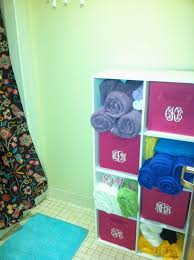 use stackable cubes for bathroom storage how to survive your