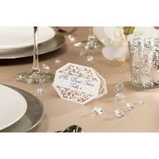 david tutera illusion die cut lace paper place cards white 25