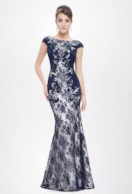robe de ceremonie mariage robe de soirée pour mariage sirène en dentelle baroque