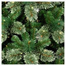 7 5ft prelit artificial tree virginia pine clear