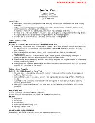 Sample Resume For Someone In by Nursing Objectives For Resume Free Resume Example And Writing