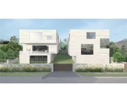 four concrete houses los angeles california xten architecture