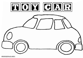 toy car coloring pages coloring pages download print