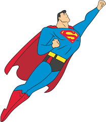 superman clipart black white clipartsgram