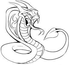 tribal snake tattoo design