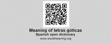 imagenes goticas letras letras góticas spanish open dictionary