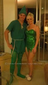 Tinkerbell Halloween Costume Adults Peter Pan Tinkerbell Couple Halloween Costume