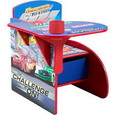disney chair desk with storage disney cars desk chair with storage bin walmart com