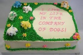 birthday cake for dogs dog rescue birthday cake cakecentral