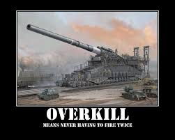 Overkill Meme - sales leads and the cost of overkill