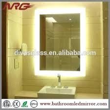 bathroom mirror with lights behind light behind mirror medium size of bathrooms table with lighted